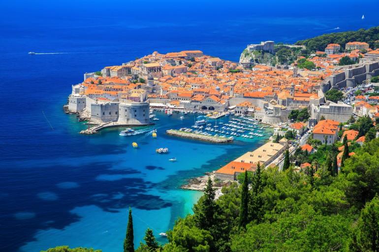 Dubrovnik Croatie juillet