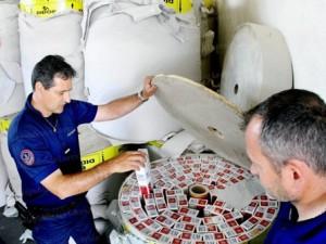A16 : le routier croate transportait 640kg de cigarettes de contrebande