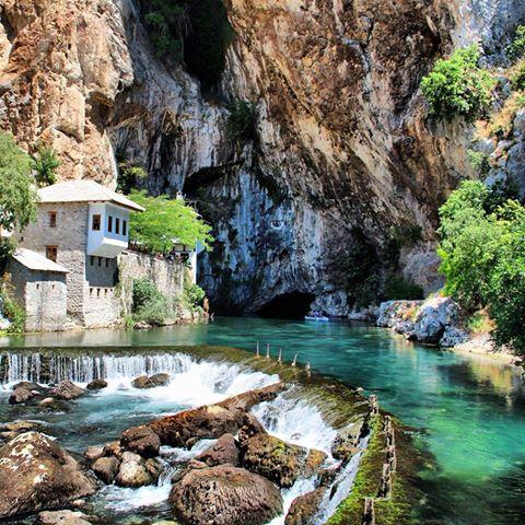 Blagaj en Bosnie