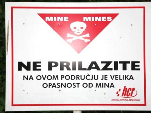 croatie mine