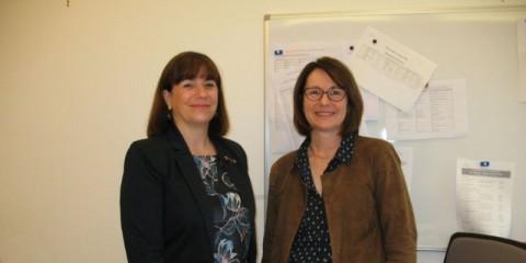 Sylvie-Martin et Fabienne Deguillaume en Croatie