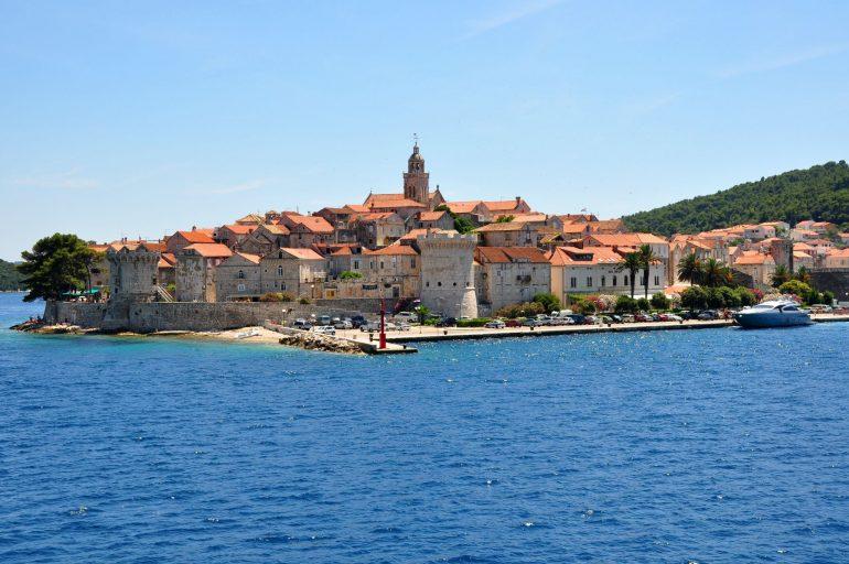 Korcula - Croatie nominée meilleur pays (photo www.all-free-photos.com)
